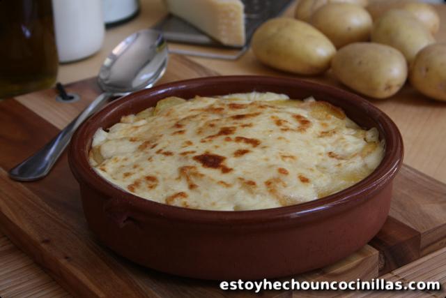 gratin de pommes de terre à la béchamel