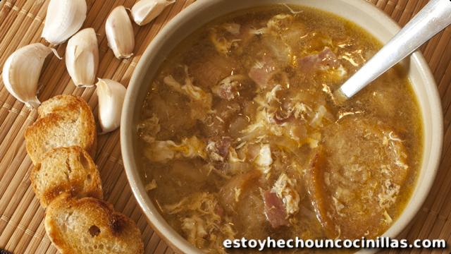 Soupe à l'ail (cuisine espagnole)