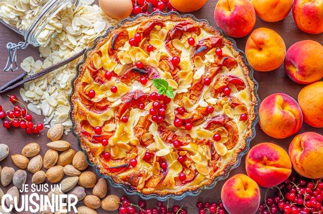 Tarte amandine aux abricots (recette)