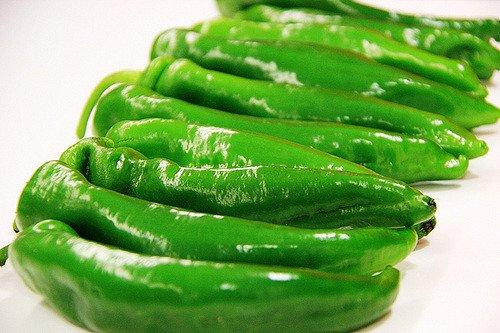 Poivrons verts (flickr.com)