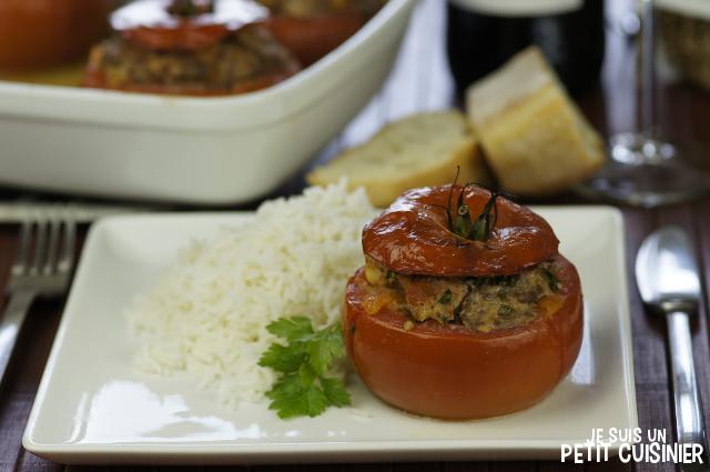 Comment faire des tomates farcies à la viande