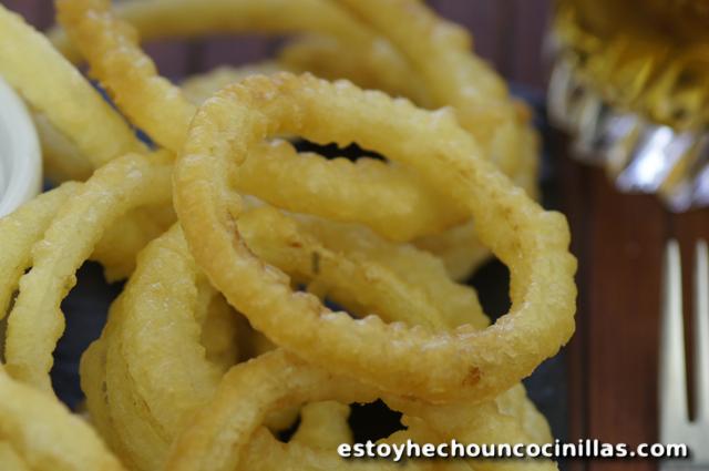 Onion rings (beignets d'oignon américains)