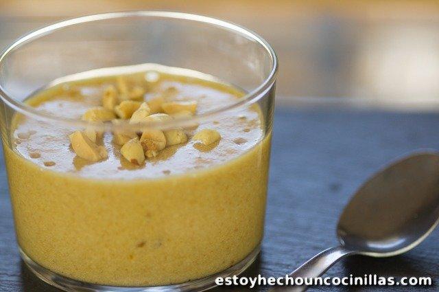Mousse au beurre d'arachide