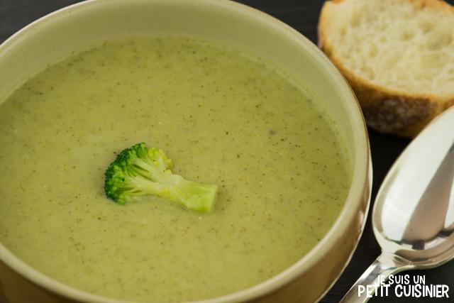comment faire une soupe de brocoli