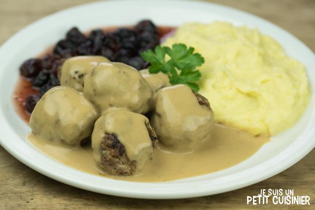 recette de boulettes de viande la su doise k ttbullar