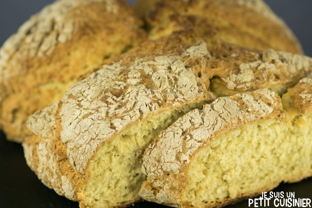 Pain irlandais (soda bread)