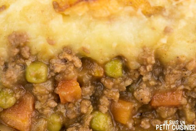 Shepherd's pie (hachis parmentier d'agneau à l'anglaise)