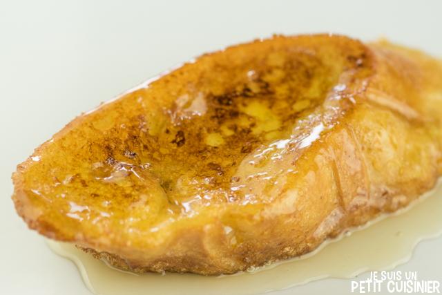 Torrijas au miel (le pain perdu au miel à l'espagnole)