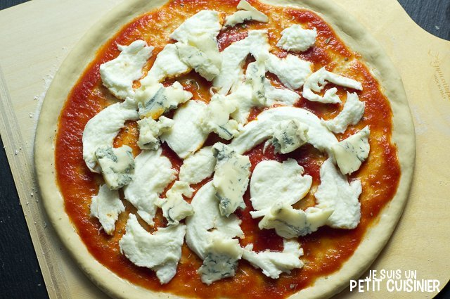 Pizza 4 fromages (gorgonzola)
