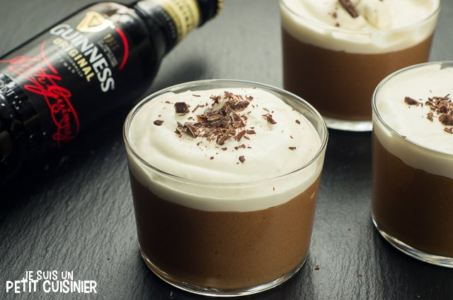 Mousse au chocolat à la Guinness