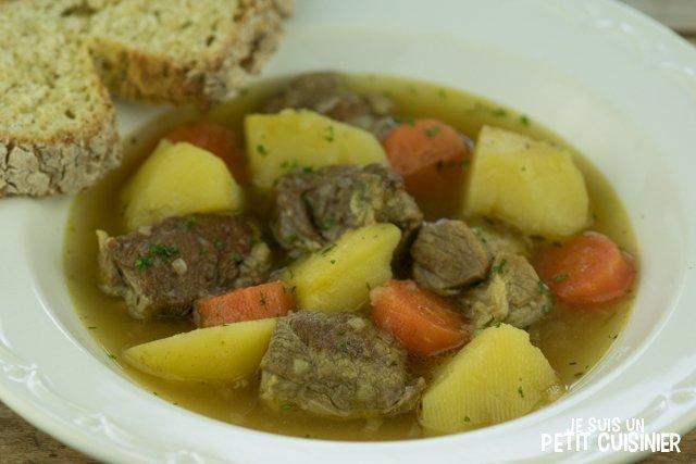Ragoût d'agneau irlandais (Irish stew)