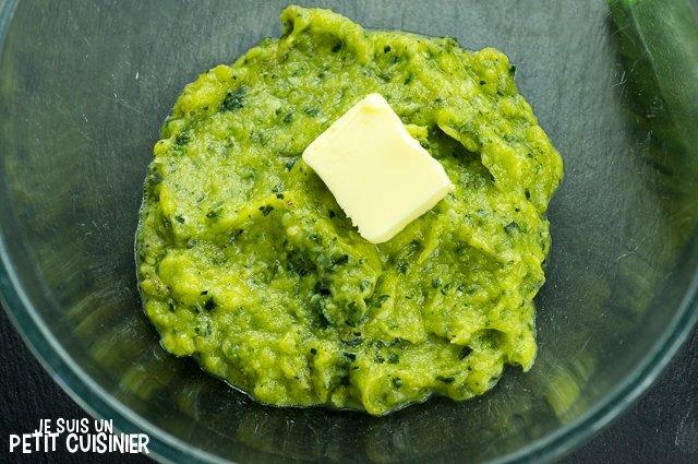 Purée de courgettes (beurre)