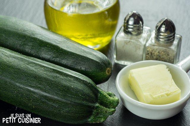 Purée de courgettes (ingrédients)