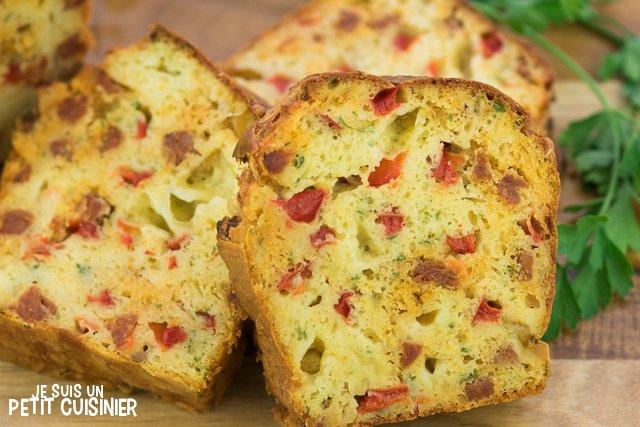 Recette De Cake Au Chorizo Et Mozzarella