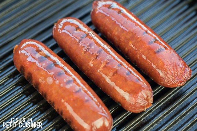 Chorizo grillé