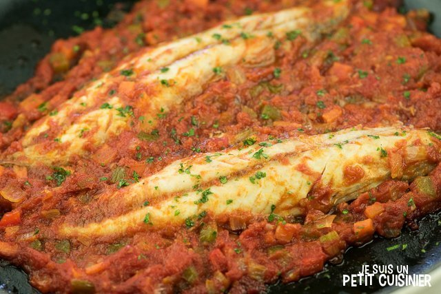 Maquereau sauce tomate