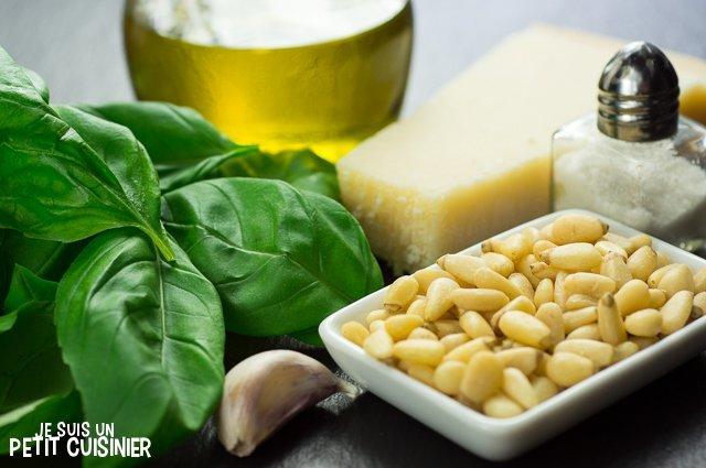 Pesto de basilic (ingrédients)