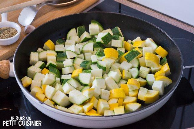 Zucchine con erbe di Provenza (padella)