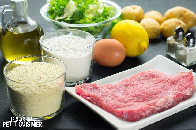 Schnitzel (ingrédients)