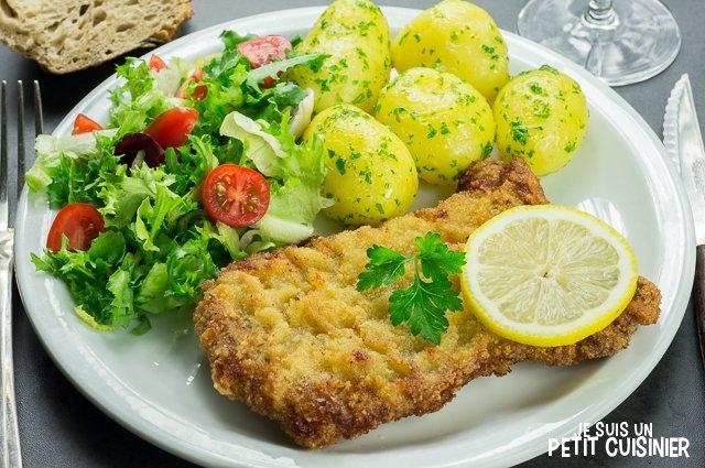 Schnitzel (escalope à la viennoise)