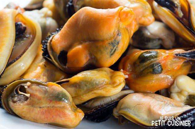 Cocktail de poisson et fruits de mer (moules)