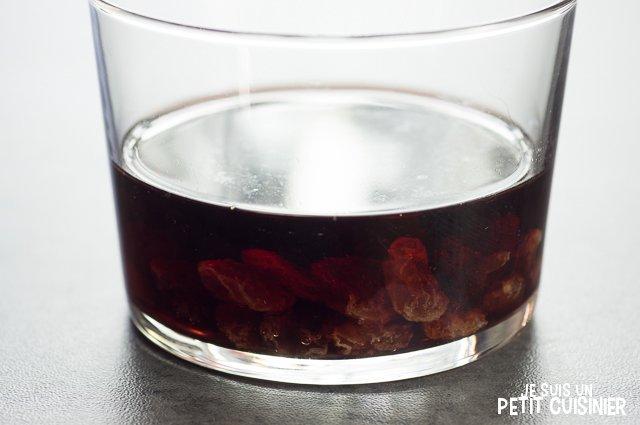 Confit de canard à la sauce Porto (raisins)