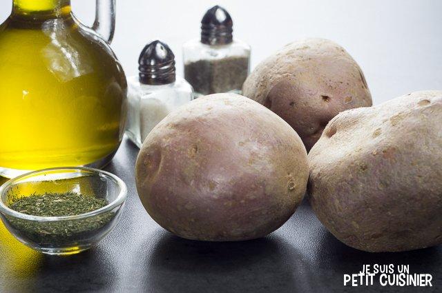 Pommes de terre rôties à l'aneth (ingrédients)