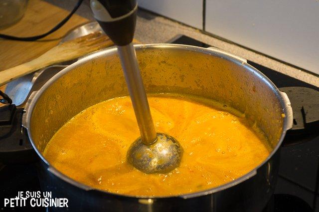 Ragoût de seiche (mixer)