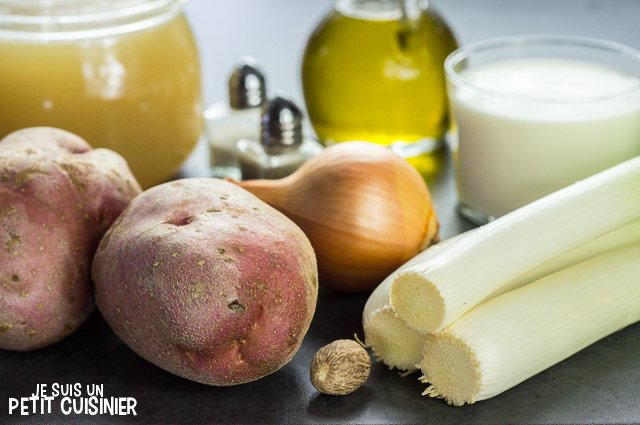 Velouté de poireaux (ingrédients)