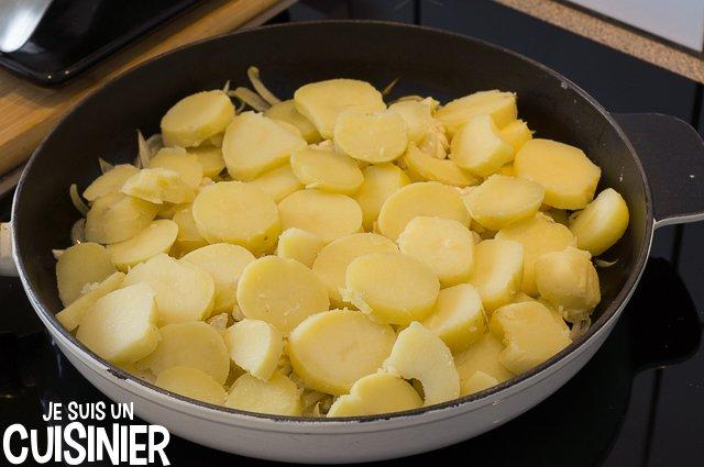 Bacalhau à Gomes de Sá (pommes de terre)