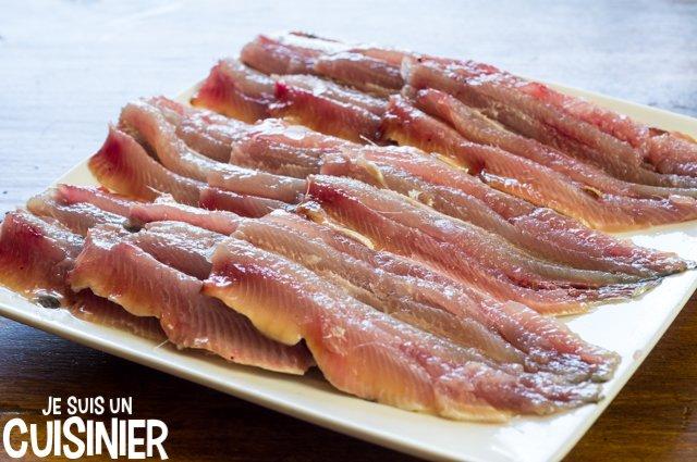Filets de sardines à la sauce tomate et poivrons (filets de sardines)