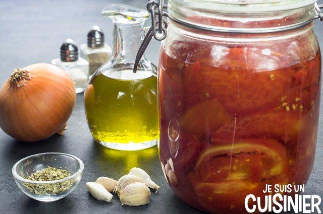 Sauce marinara (ingrédients)
