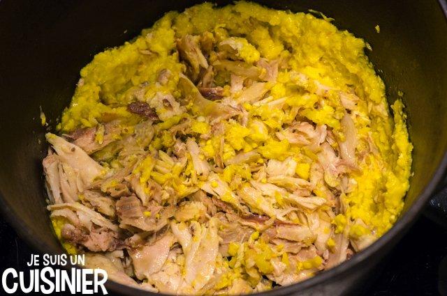 Soupe de poulet au maïs doux (poulet)
