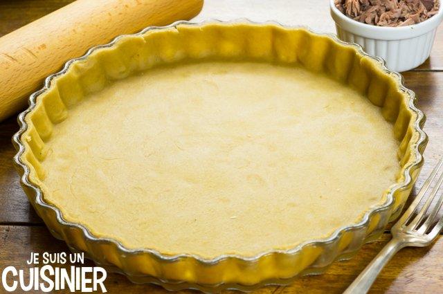 Tarte au thon, tomate et moutarde (foncer)