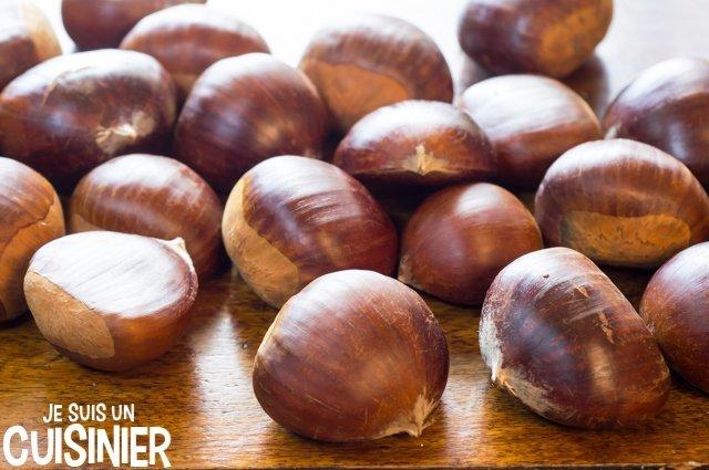 Marrons chauds au micro-ondes (ingrédients)