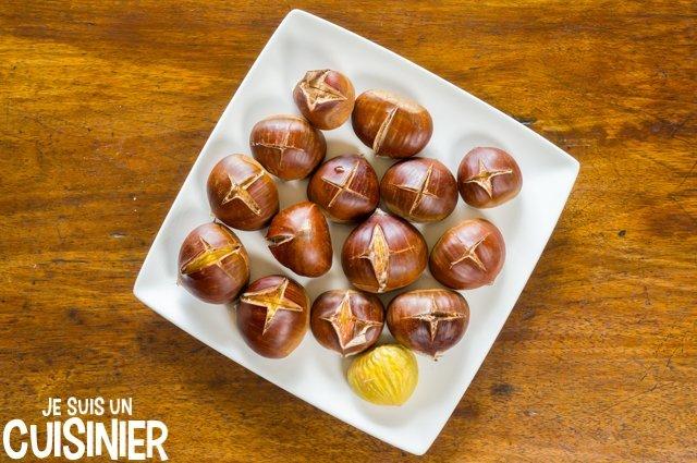 Marrons chauds au micro-ondes (recette)