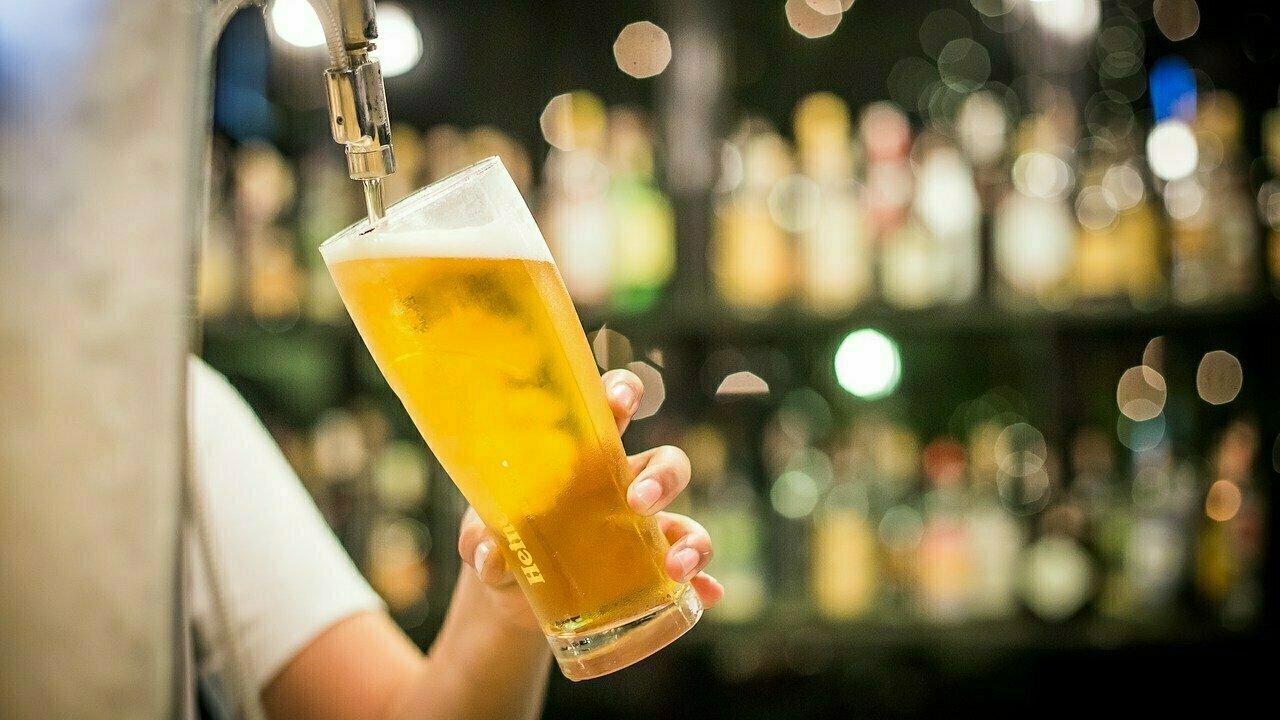 Bière blonde legère