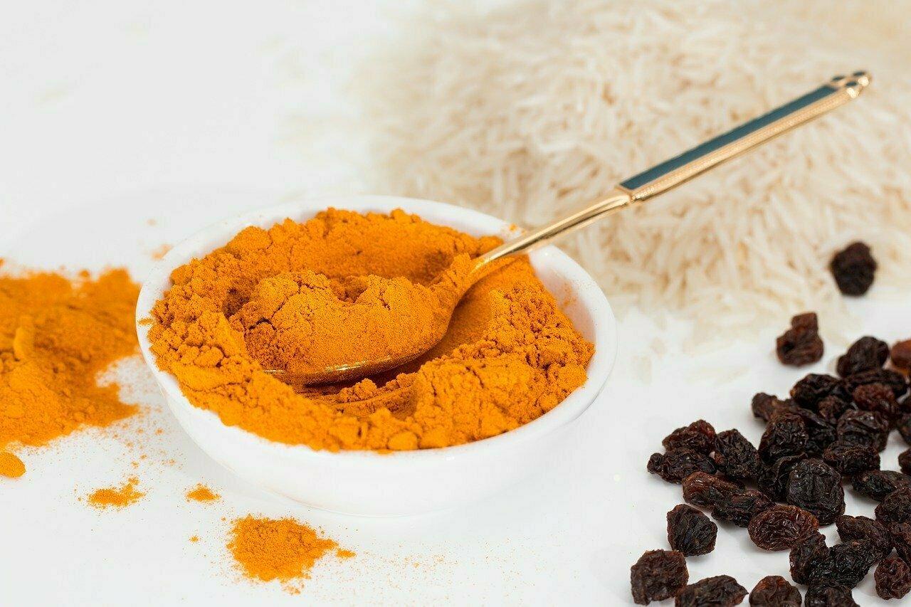 Curry en poudre pour les lentilles