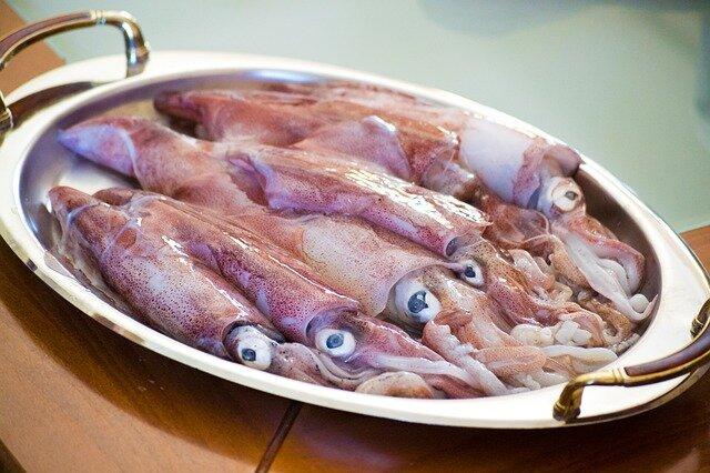 Calamars pour paella