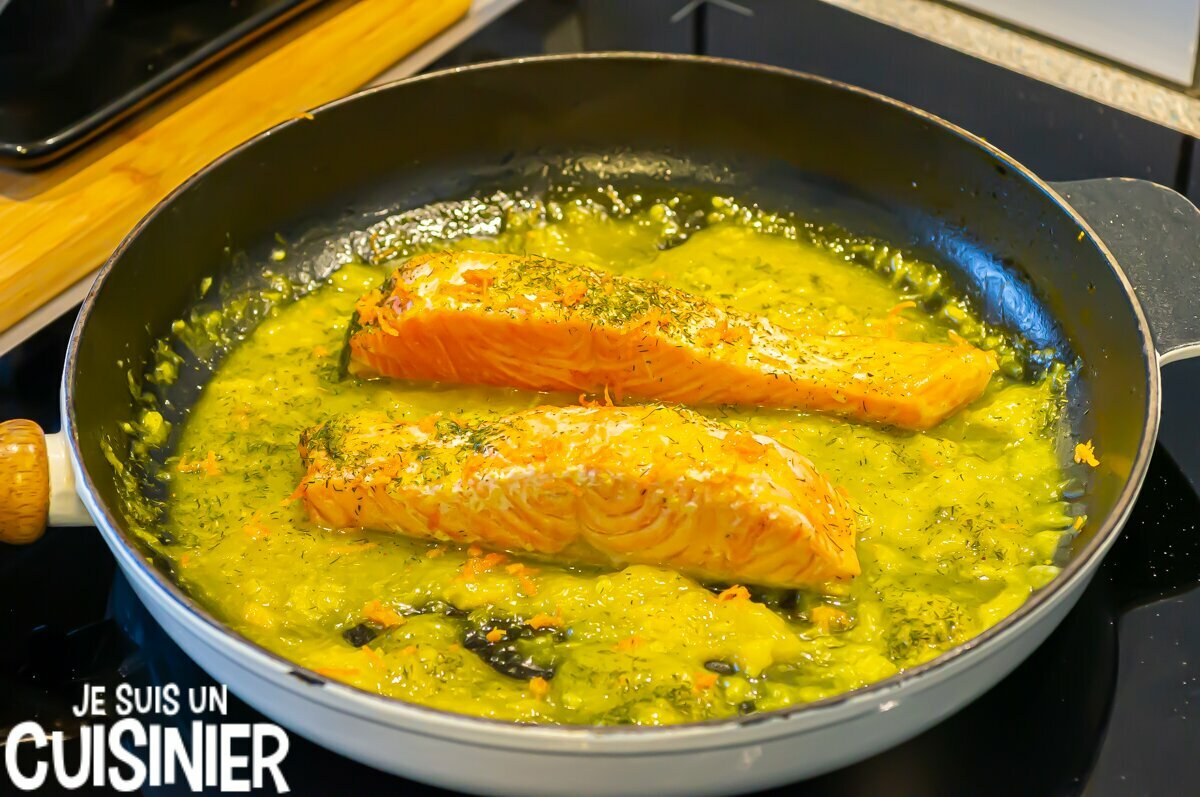 Comment faire saumon à l'orange et à l'aneth