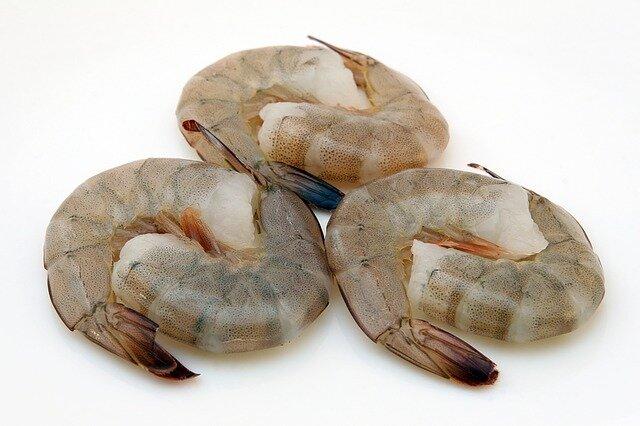 Crevettes pour paella