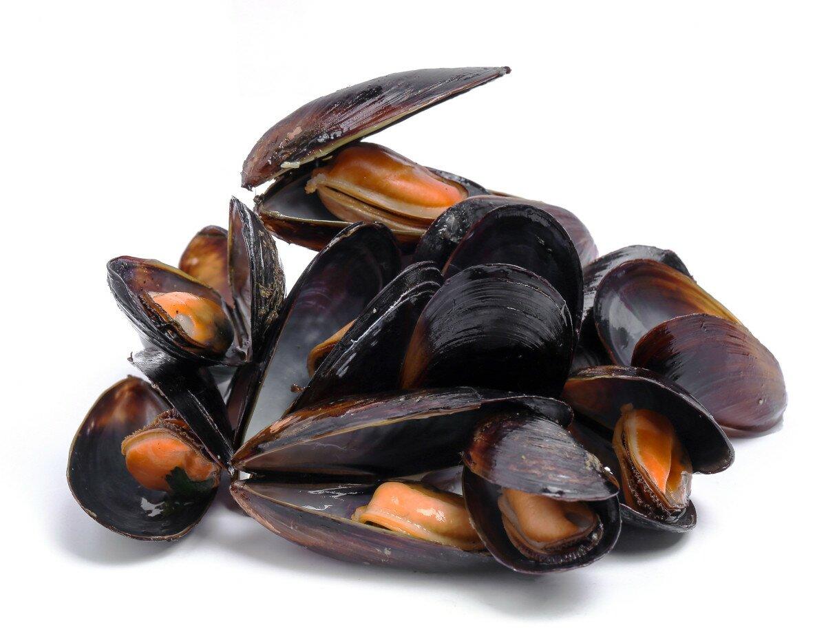 Ingrédients moules marinières et frites