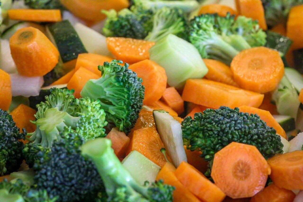 Légumes pour paella à la dinde et aux légumes