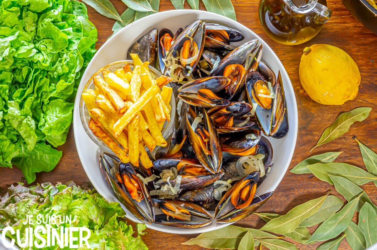 Moules marinières et frites