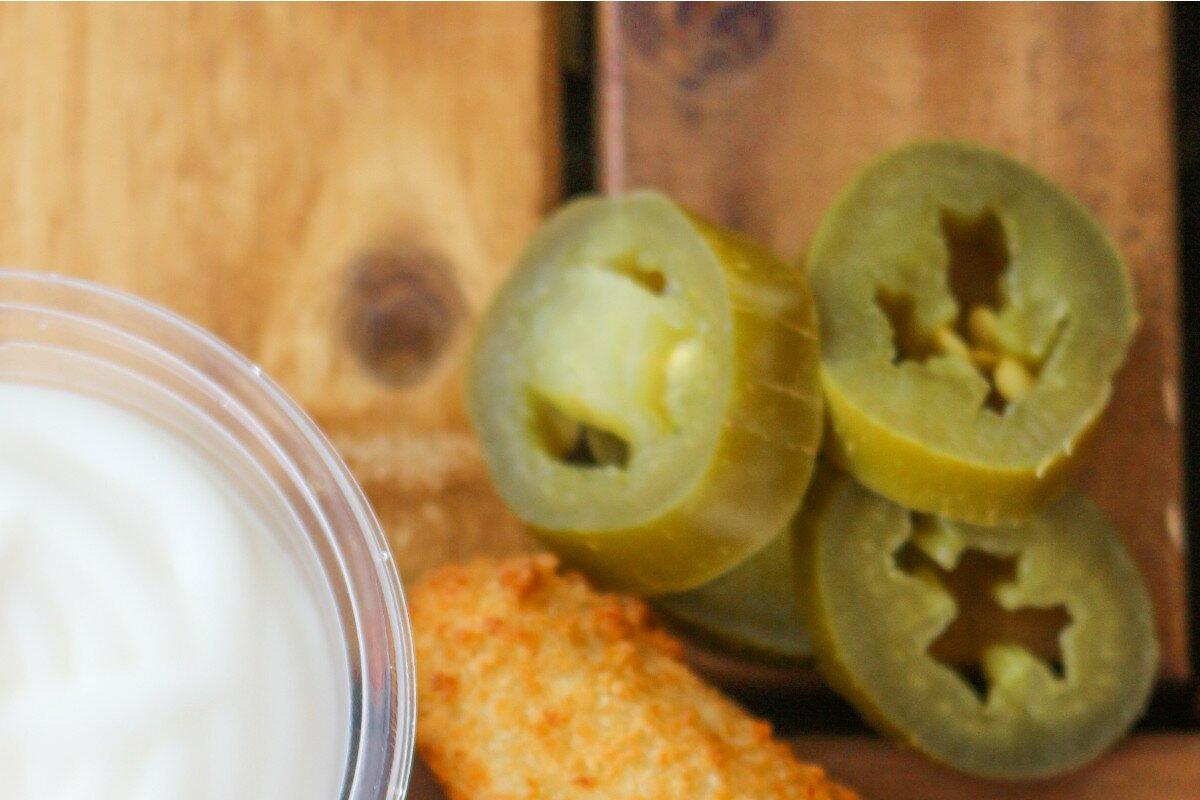 Piment jalapeño pour nachos au guacamole