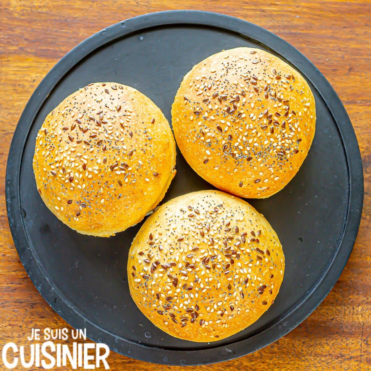 Recette de pain burger maison