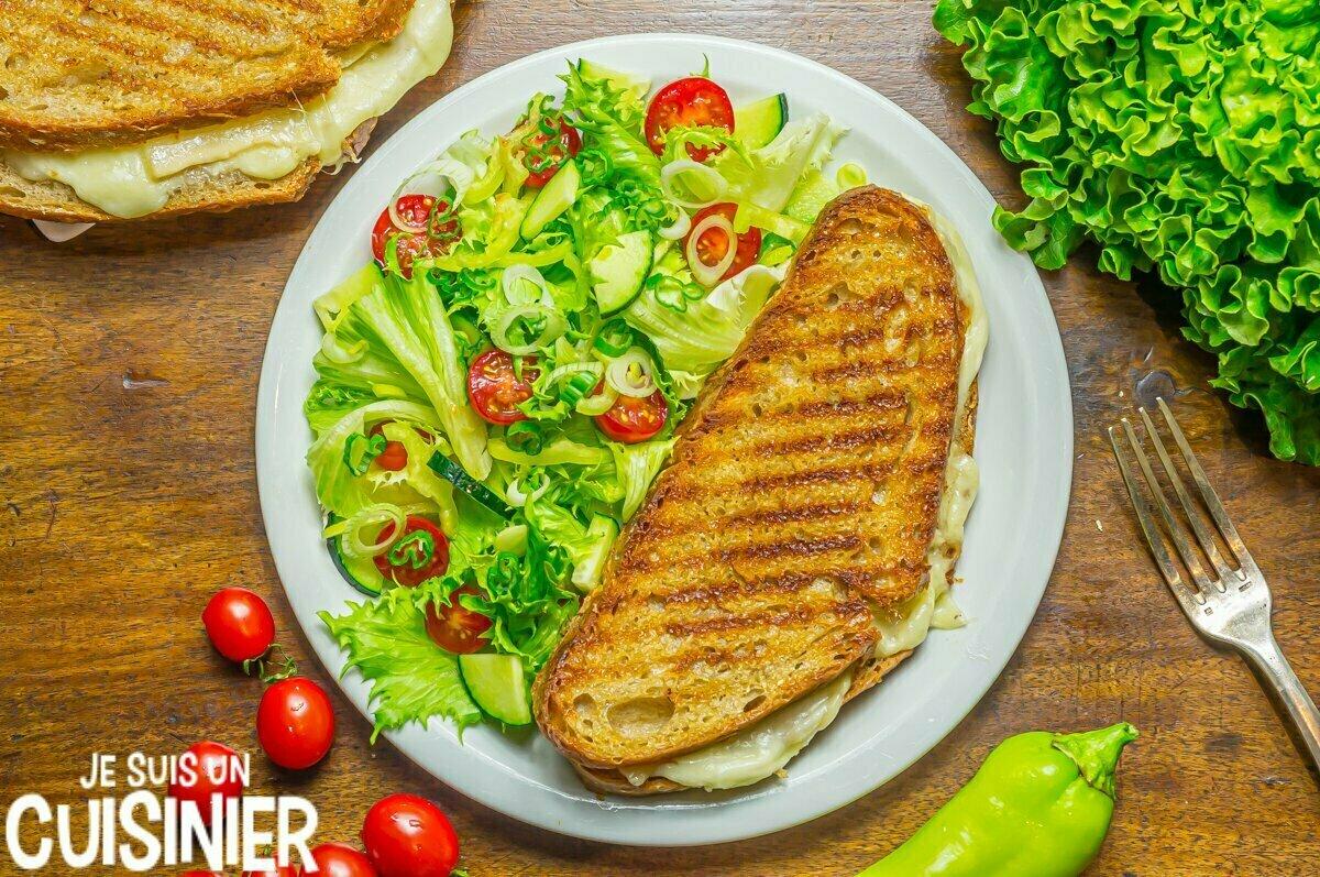 Recette pour sandwich au fromage fondu (grilled cheese)