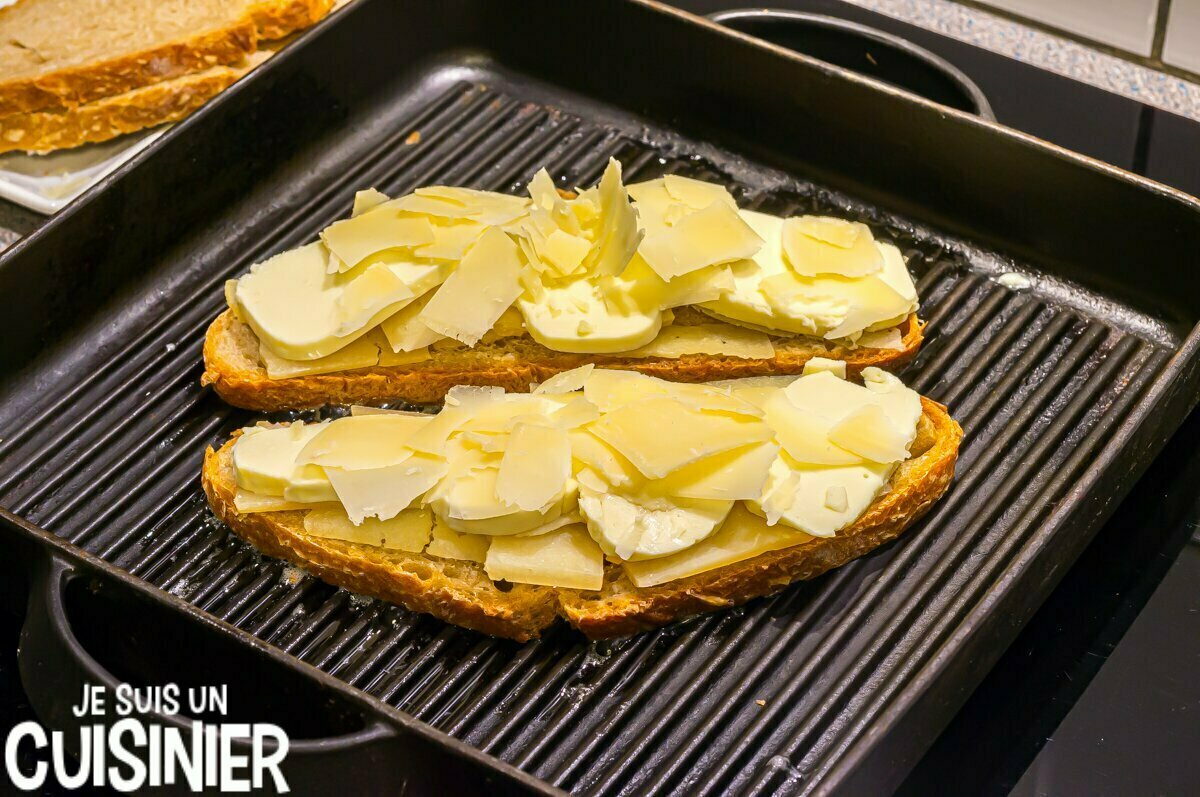 Sandwich aux fromages