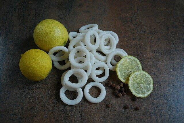 Calamars en sauce armoricaine (anneaux)