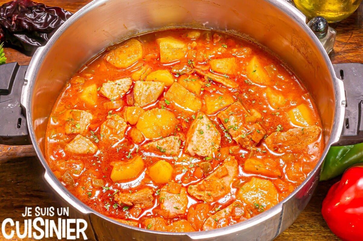 Comment faire le marmitako de thon
